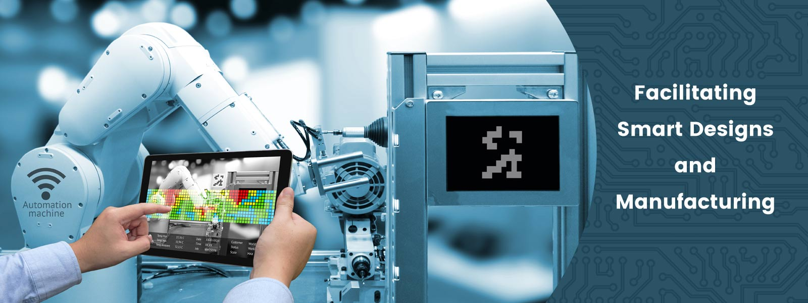 Facilitating smart designs and manufacturing using engineering software